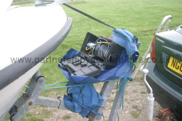 Warrior Boats 150 Electric winch -