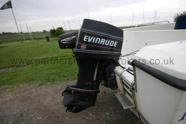 Warrior Boats 150 Main engine -