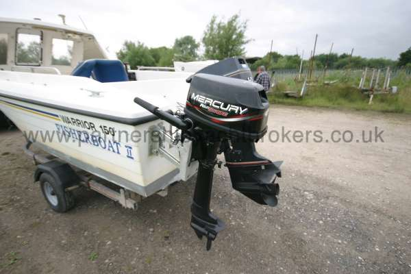 Warrior Boats 150 Auxilliary engine -