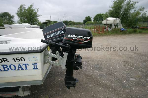Warrior Boats 150 Both engines -