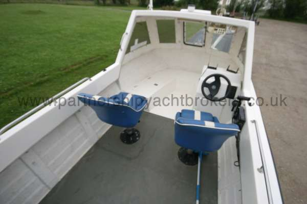 Warrior Boats 150 Seating for two -