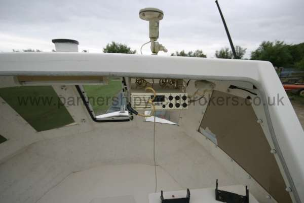Warrior Boats 150 Under the shelter -