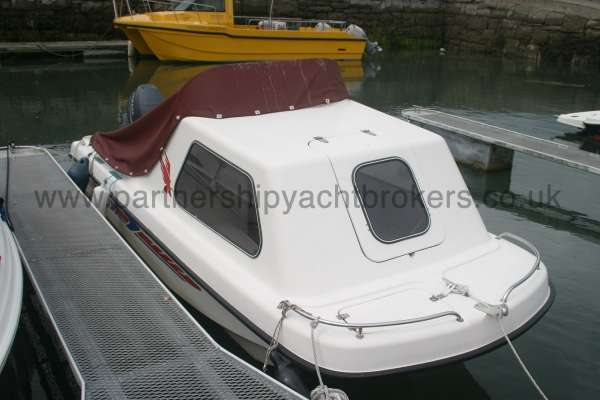 Seahawk Sportsboats 17 Cathedral hull -