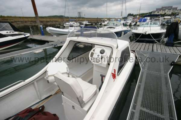 Seahawk Sportsboats 17 On her berth -
