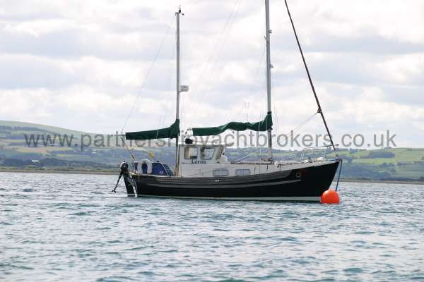 Fisher 25 Afloat -