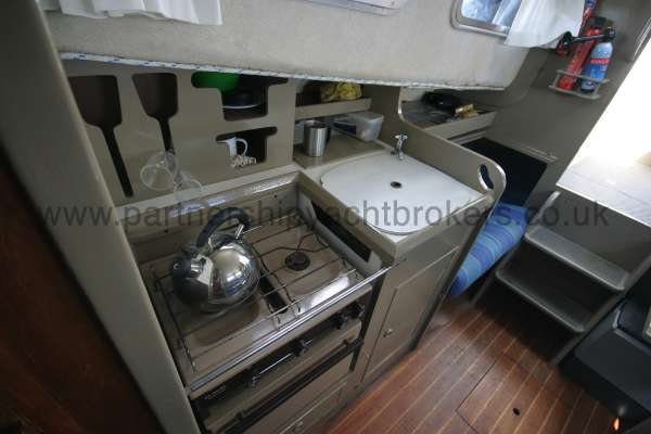 Fisher 25 The compact galley -