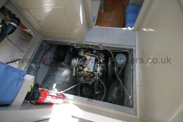 Fisher 25 The engine -
