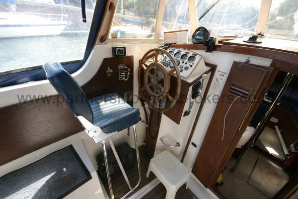 Meridian 31 The helm  -