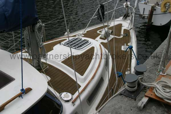 Meridian 31 Deck view -
