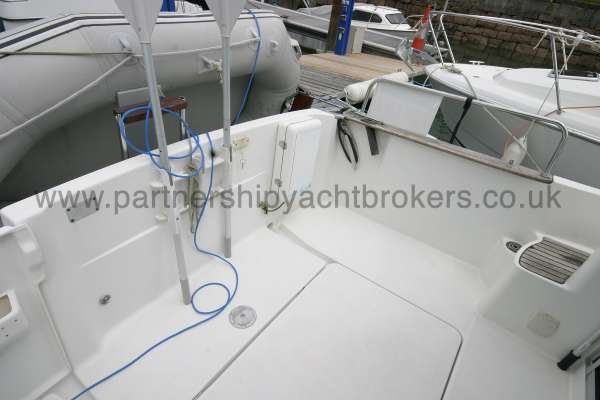 Beneteau Antares 760 The after   deck -
