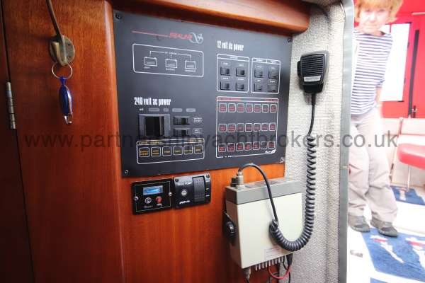 Sealine Ambassador 285 The main switchboard -