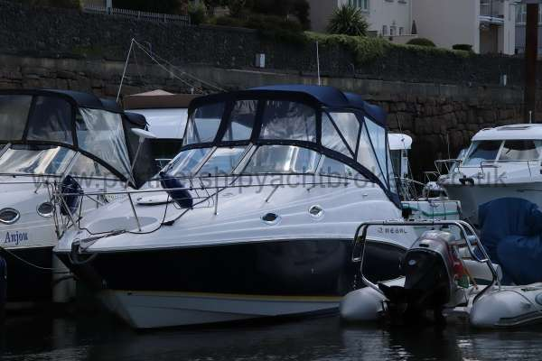 Regal 2665 Commodore On her berth -