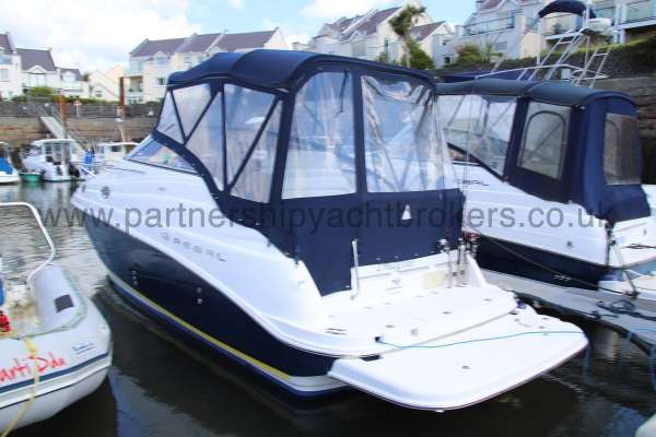 Regal 2665 Commodore Port quarter  - And stern boarding platform