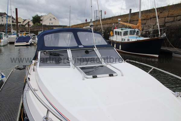 Fletcher 238 Looking aft -