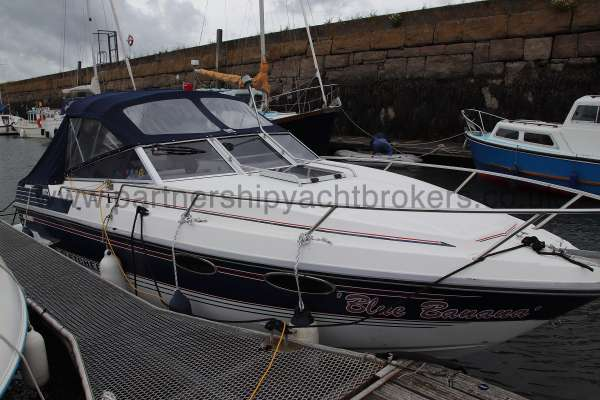 Fletcher 238 On her berth -