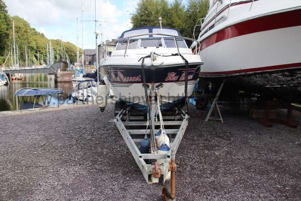 Fletcher 238 Bows view -