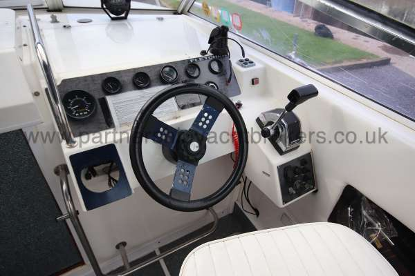 Fletcher 238 Helm position -