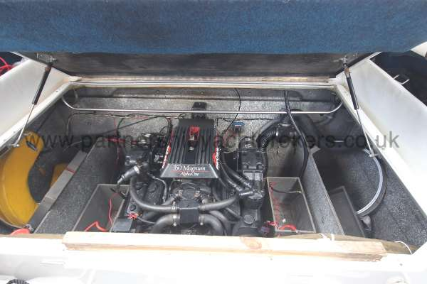 Fletcher 238 Engine compartment -