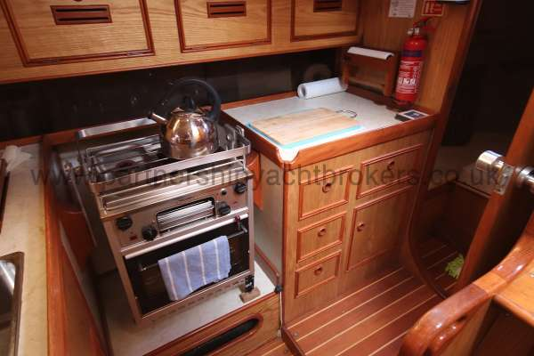 Sovereign 400 the galley cooker -