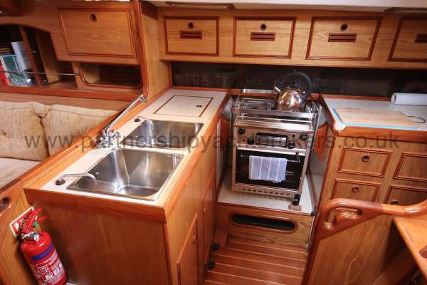 Sovereign 400 the galley -