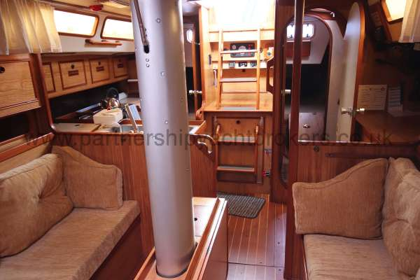 Sovereign 400 Saloon view - looking aft