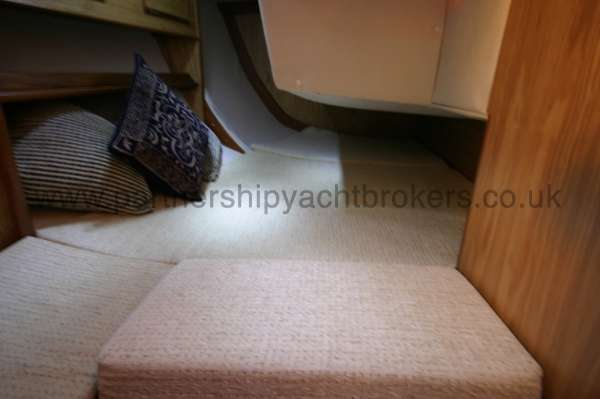 Sovereign 400 Starboard aft cabin -