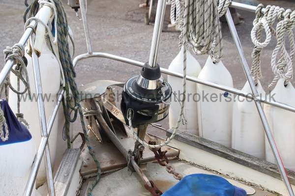 Ocean Cruising Sea Trader  41 ft Yacht Furling gear -