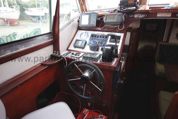 Colvic Family Fisher The helm position -