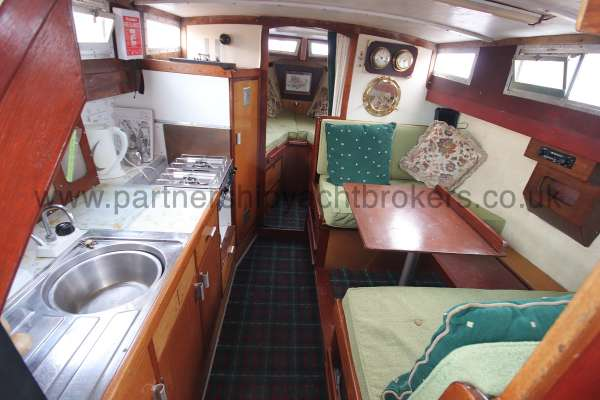 Colvic Family Fisher Saloon view -