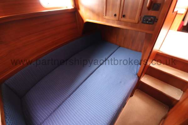 Nauticat 331 The aft cabin - A double berth
