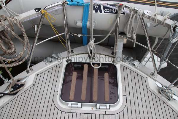Nauticat 331 The after deck -