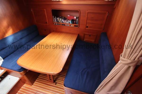 Nauticat 331 The lower saloon  -