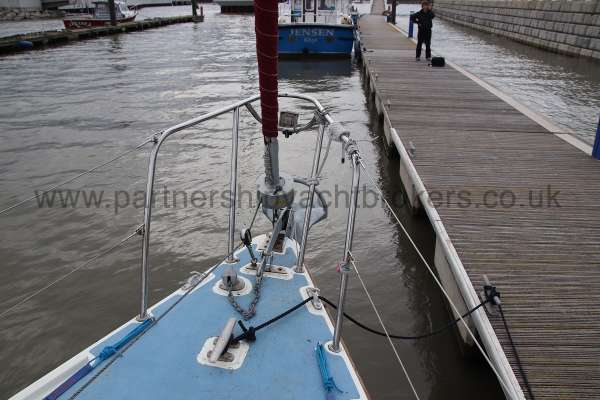 Westerly Merlin Fore deck and furling gear -
