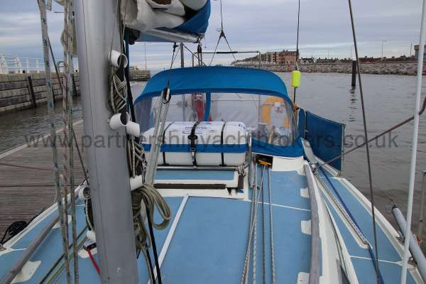 Westerly Merlin Deck view -