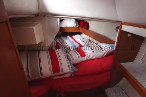 Westerly Merlin The aft cabin -