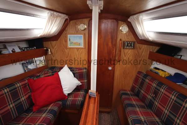 Westerly Merlin The saloon  - Looking forward