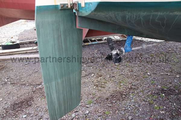 Westerly Merlin Rudder and propellor -
