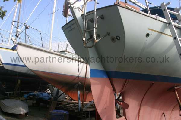 Halmatic 30 The transom -