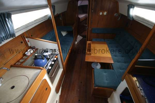 Halmatic 30 Saloon view -