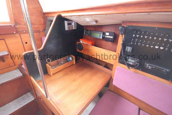 Nicholson 35 The  navigation table -
